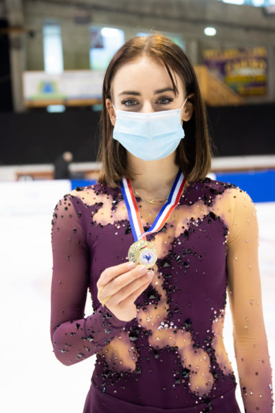 Léa Serna victoire aux Masters de Villard de Lans