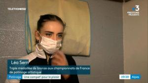 France 3 Interview Léa Serna
